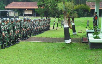 CAPRASIS DIKMAPA PK TNI TA 2019 MELAKSANAKAN LATIHAN PRAKTEK PIONER